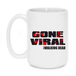 Кружка 420ml Gone viral (Walking dead)