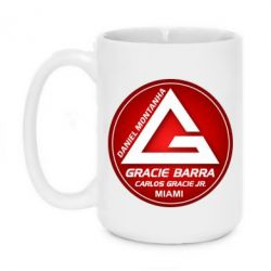 Кружка 420ml Gracie Barra Miami - FatLine