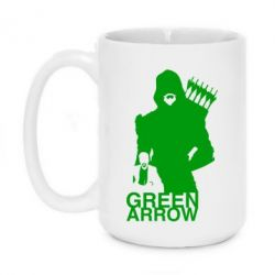 Кружка 420ml Green Arrow Art - FatLine
