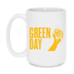 Кружка 420ml Green Day American Idiot - FatLine
