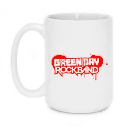 Кружка 420ml Green Day Rockband