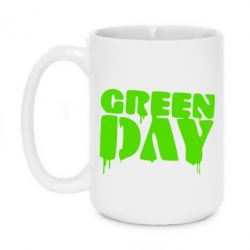 Кружка 420ml Green Day
