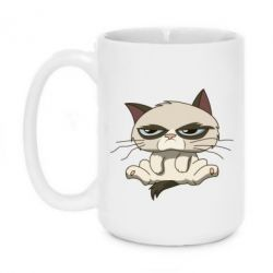 Кружка 420ml Grumpy Cat Art