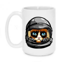 Кружка 420ml Grumpy Cat Astronaut