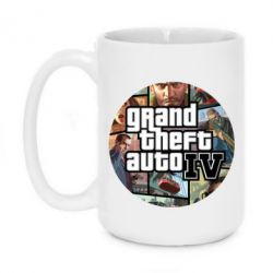 Кружка 420ml GTA 4 Logo