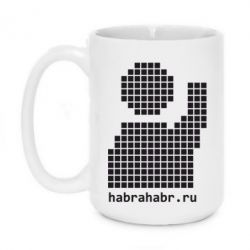 Кружка 420ml habrahabr logo - FatLine