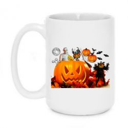 Кружка 420ml Halloween Clipart