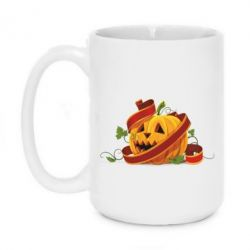 Кружка 420ml Halloween pumpkin - FatLine
