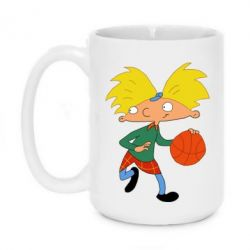 Кружка 420ml Hey, Arnold! - FatLine