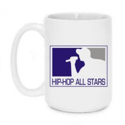 Кружка 420ml Hip-hop all stars - FatLine