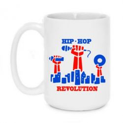 Кружка 420ml Hip-hop revolution