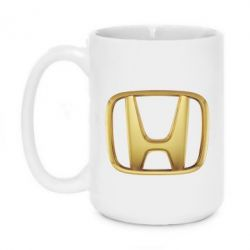 Кружка 420ml Honda Gold Logo - FatLine