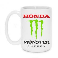 Кружка 420ml Honda Monster Energy