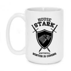 Кружка 420ml House Stark Winterfell - FatLine