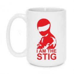 Кружка 420ml I am the Stig