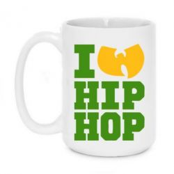 Кружка 420ml I love Hip-hop Wu-Tang - FatLine