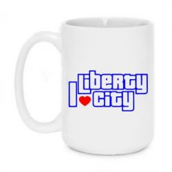 Кружка 420ml I love Liberty City
