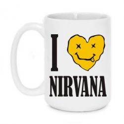 Кружка 420ml I love Nirvana - FatLine