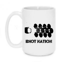 Кружка 420ml Idiot Nation