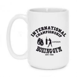 Кружка 420ml International Championship Boxing Gym London - FatLine