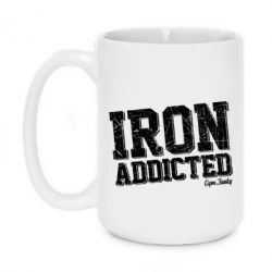 Кружка 420ml Iron Addicted