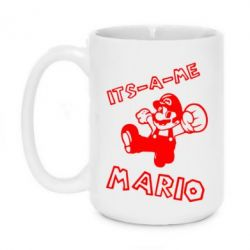 Кружка 420ml It's a me - Mario - FatLine