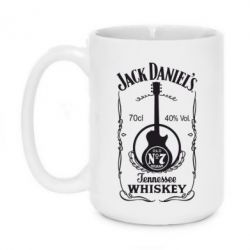 Кружка 420ml Jack Daniel's Guitar - FatLine