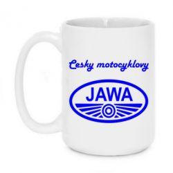 Кружка 420ml Java Cesky Motocyclovy - FatLine