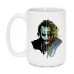 Кружка 420ml Joker Art Face - FatLine