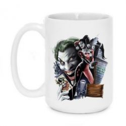 Кружка 420ml Joker, Batman, Harley Quinn