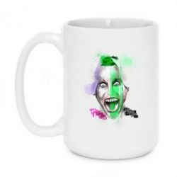 Кружка 420ml Joker Jared Leto - FatLine