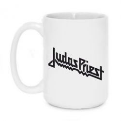 Кружка 420ml Judas Priest Logo - FatLine