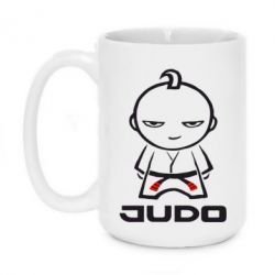 Кружка 420ml Judo Fighter