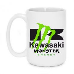 Кружка 420ml Kawasaki Monster Energy