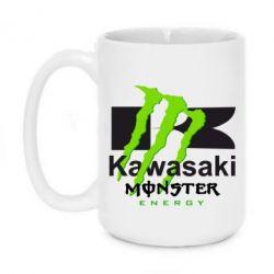 Кружка 420ml Kawasaki Monster Energy - FatLine