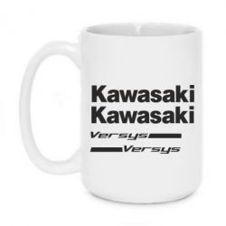Кружка 420ml Kawasaki2 - FatLine