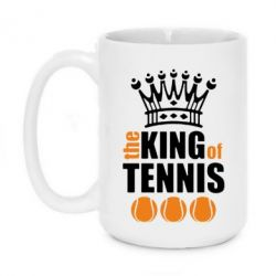 Кружка 420ml King of Tennis