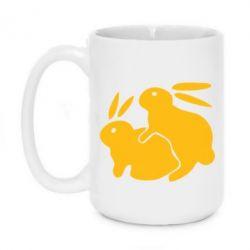 Кружка 420ml Кролики - FatLine