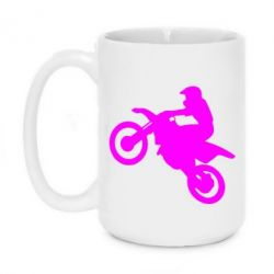Кружка 420ml Кроссовый мотоцикл - FatLine