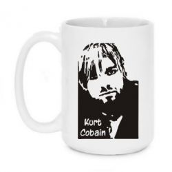 Кружка 420ml Kurt Cobain - FatLine