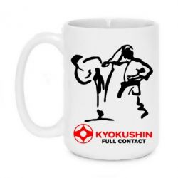 Кружка 420ml Kyokushin Full Contact - FatLine