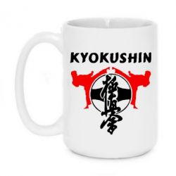 Кружка 420ml Kyokushin - FatLine