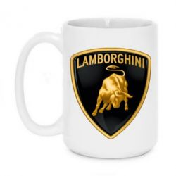 Кружка 420ml Lamborghini Logo - FatLine