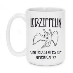 Кружка 420ml Led Zeppelin United States of America 77 - FatLine