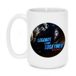 Кружка 420ml Legends stand together