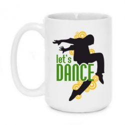 Кружка 420ml Let's Dance! - FatLine