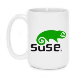 Кружка 420ml Linux Suse - FatLine