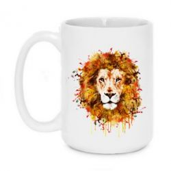 Кружка 420ml Lion Art - FatLine
