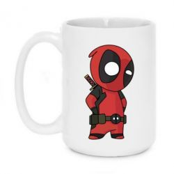Кружка 420ml Little Deadpool