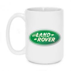 Кружка 420ml Логотип Land Rover - FatLine